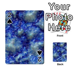 Alien DNA Blue Playing Cards 54 Designs