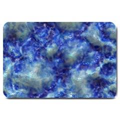 Alien DNA Blue Large Doormat