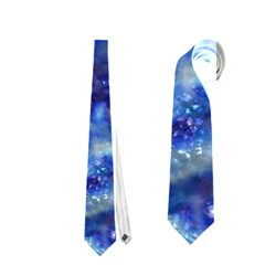 Alien Dna Blue Neckties (one Side)