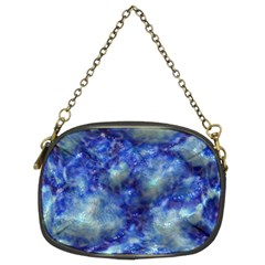 Alien DNA Blue Chain Purses (Two Sides)