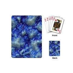 Alien DNA Blue Playing Cards (Mini)