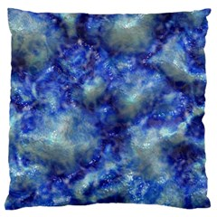 Alien DNA Blue Large Cushion Cases (Two Sides)