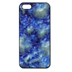 Alien DNA Blue Apple iPhone 5 Seamless Case (Black)