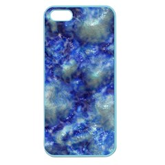 Alien DNA Blue Apple Seamless iPhone 5 Case (Color)