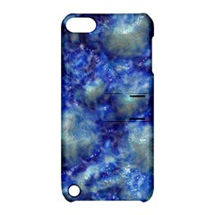 Alien DNA Blue Apple iPod Touch 5 Hardshell Case with Stand