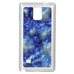 Alien DNA Blue Samsung Galaxy Note 4 Case (White)