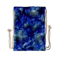 Alien DNA Blue Drawstring Bag (Small)