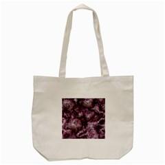 Alien Dna Purple Tote Bag (cream)