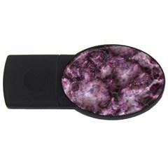 Alien Dna Purple Usb Flash Drive Oval (4 Gb)