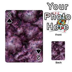 Alien Dna Purple Playing Cards 54 Designs