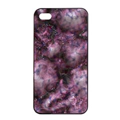Alien Dna Purple Apple Iphone 4/4s Seamless Case (black)