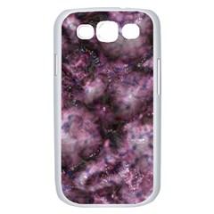 Alien Dna Purple Samsung Galaxy S III Case (White)