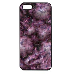 Alien Dna Purple Apple iPhone 5 Seamless Case (Black)