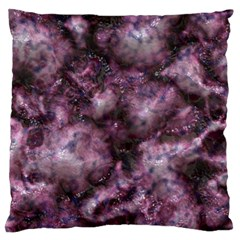 Alien Dna Purple Large Flano Cushion Cases (One Side)