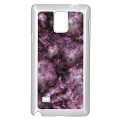 Alien Dna Purple Samsung Galaxy Note 4 Case (White)