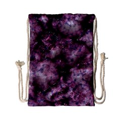Alien Dna Purple Drawstring Bag (small)