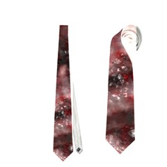 Alien Dna Red Neckties (one Side)