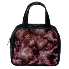 Alien DNA Red Classic Handbags (One Side)