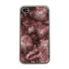 Alien DNA Red Apple iPhone 4 Case (Clear)