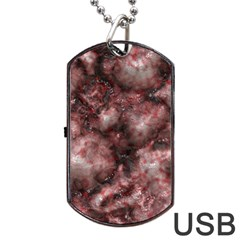 Alien DNA Red Dog Tag USB Flash (Two Sides)