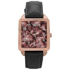 Alien DNA Red Rose Gold Watches