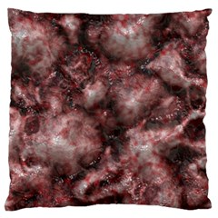 Alien DNA Red Large Flano Cushion Cases (Two Sides)