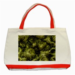 Alien DNA green Classic Tote Bag (Red)