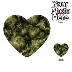 Alien Dna Green Multi Purpose Cards (heart)