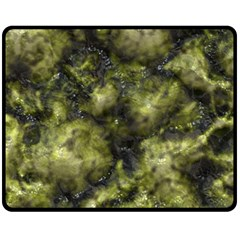 Alien Dna Green Fleece Blanket (medium)