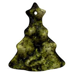 Alien Dna Green Christmas Tree Ornament (2 Sides)