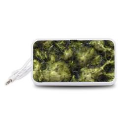 Alien DNA green Portable Speaker (White)