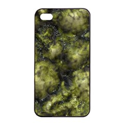 Alien Dna Green Apple Iphone 4/4s Seamless Case (black)