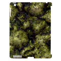 Alien DNA green Apple iPad 3/4 Hardshell Case (Compatible with Smart Cover)