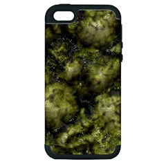 Alien DNA green Apple iPhone 5 Hardshell Case (PC+Silicone)