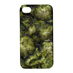 Alien DNA green Apple iPhone 4/4S Hardshell Case with Stand