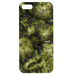 Alien DNA green Apple iPhone 5 Hardshell Case with Stand