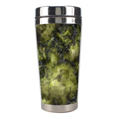 Alien DNA green Stainless Steel Travel Tumblers