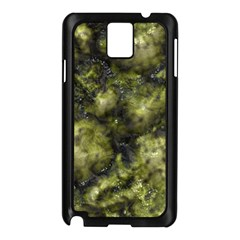 Alien DNA green Samsung Galaxy Note 3 N9005 Case (Black)