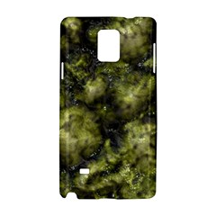 Alien DNA green Samsung Galaxy Note 4 Hardshell Case