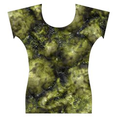 Alien DNA green Women s Cap Sleeve Top