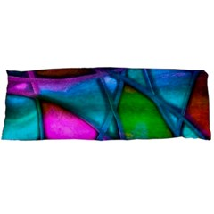 Imposant Abstract Teal Body Pillow Cases Dakimakura (Two Sides)