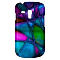 Imposant Abstract Teal Samsung Galaxy S3 MINI I8190 Hardshell Case