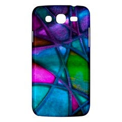 Imposant Abstract Teal Samsung Galaxy Mega 5.8 I9152 Hardshell Case