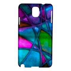 Imposant Abstract Teal Samsung Galaxy Note 3 N9005 Hardshell Case