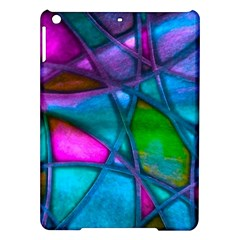Imposant Abstract Teal iPad Air Hardshell Cases