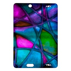 Imposant Abstract Teal Kindle Fire HD (2013) Hardshell Case