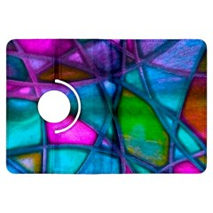 Imposant Abstract Teal Kindle Fire Hdx Flip 360 Case