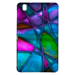 Imposant Abstract Teal Samsung Galaxy Tab Pro 8.4 Hardshell Case
