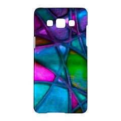 Imposant Abstract Teal Samsung Galaxy A5 Hardshell Case