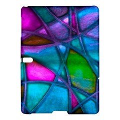 Imposant Abstract Teal Samsung Galaxy Tab S (10 5 ) Hardshell Case